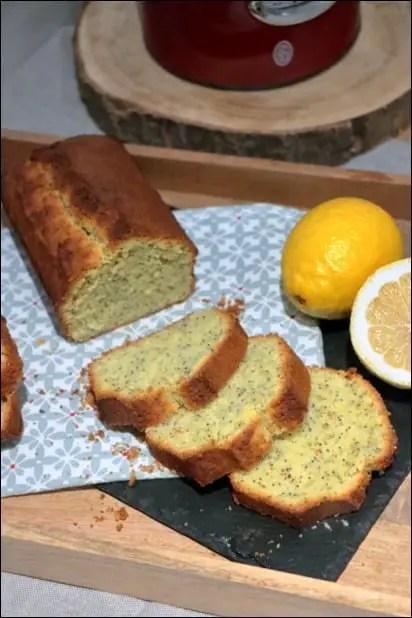 gâteau citron pavot hyper moelleux