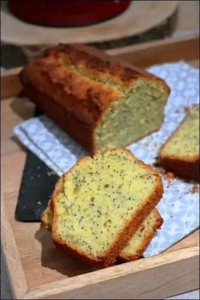 cake citron pavot blog