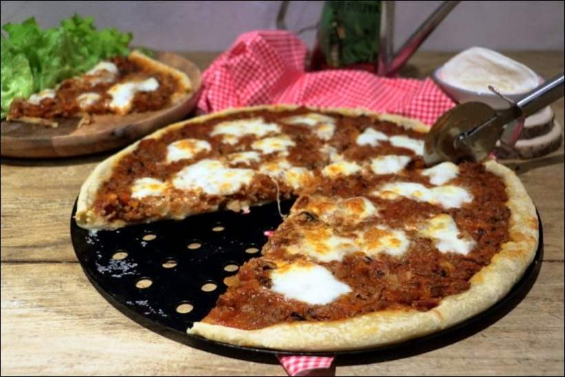 pizza bolognaise maison