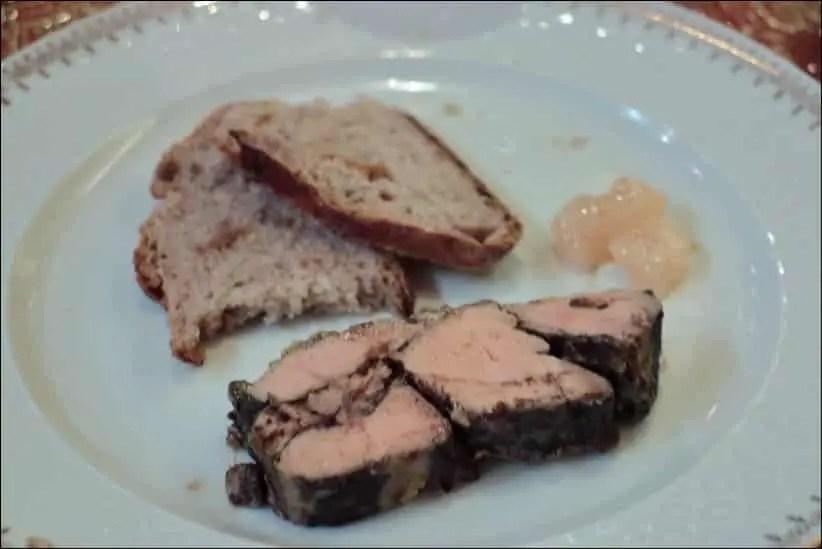 foie gras au four