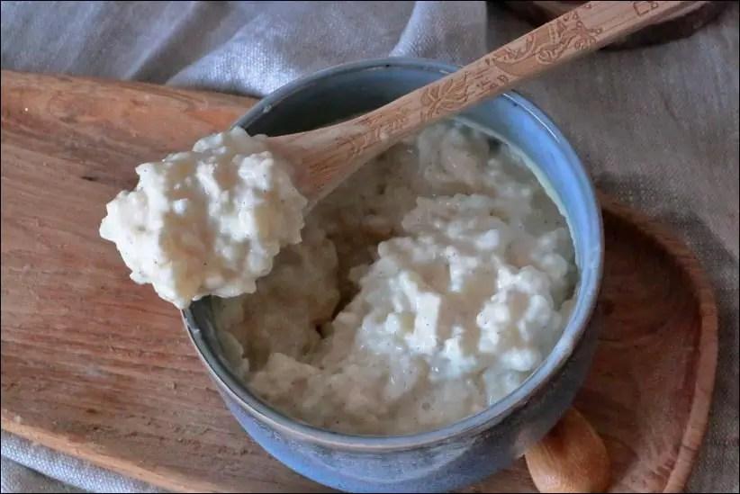 riz au lait vanille cremeux