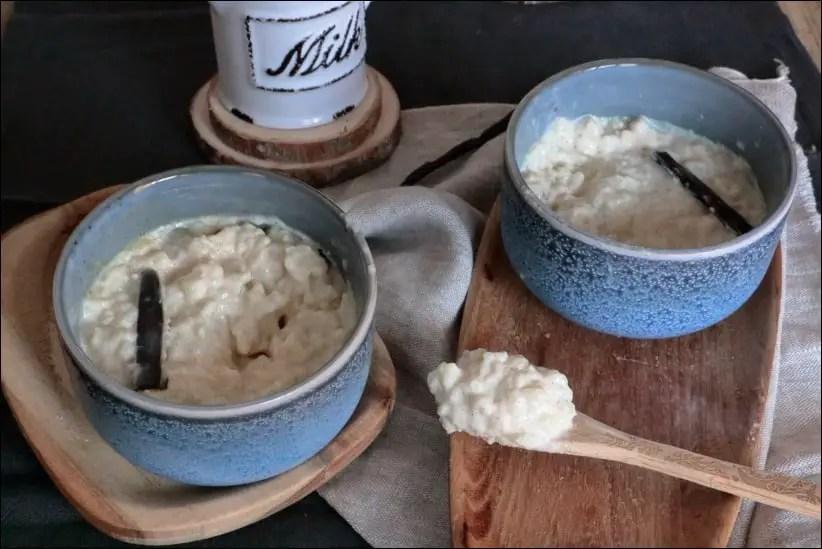 riz au lait de William Lamagnère