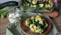 gratin de tortellini à la brousse de brebis
