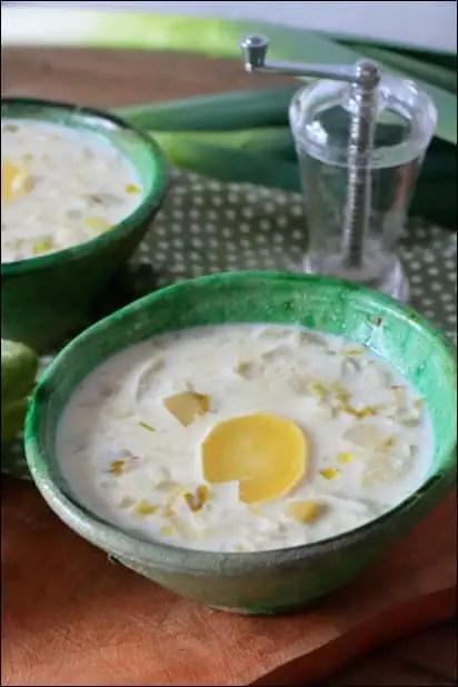 soupe endive lait