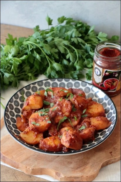 curry pomme de terre tomate