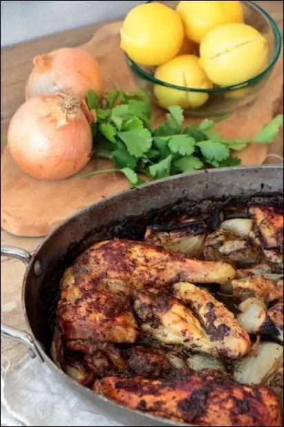 poulet citron confit coriandre laurent mariotte