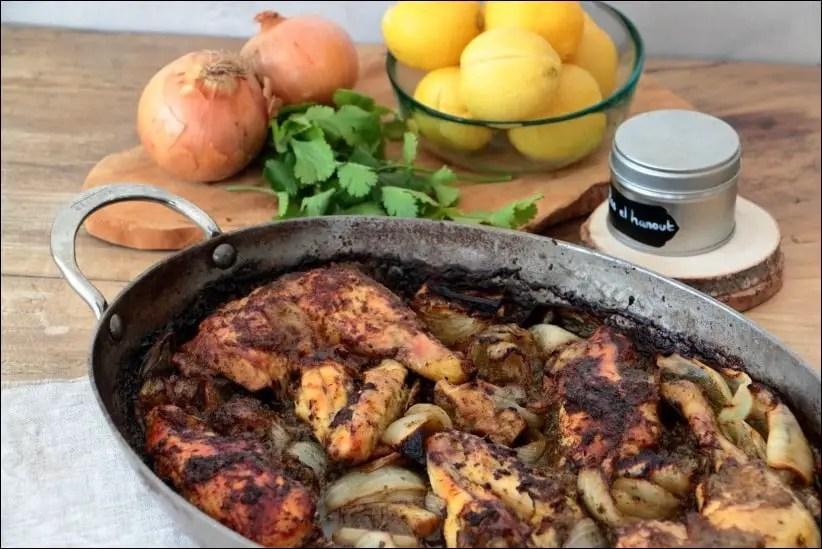 fricassee poulet citron confit ras el hanout mariotte