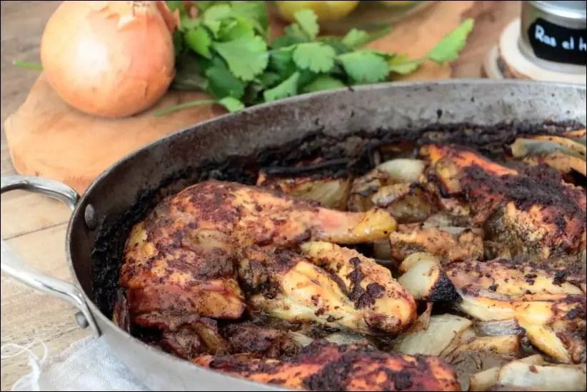 poulet citron confit coriandre