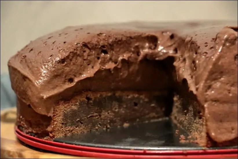 gateau à la mousse au chocolat facile