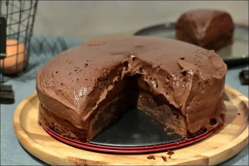 gateau mousse au chocolat