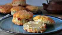 scones aux raisins secs de Christophe Michalak