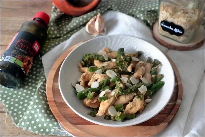 poulet asperges asiatique