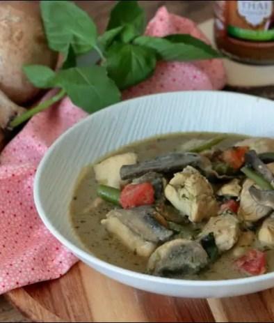 poulet thaï au curry