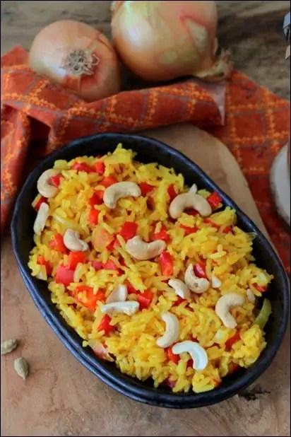 riz coco poivron rouge