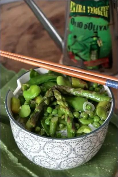 wok légumes sauce soja
