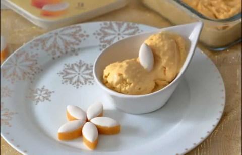 crème glacée aux calissons d'Aix