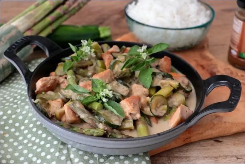 poulet courgette asiatique