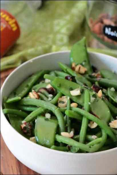 salade haricots verts ottolenghi