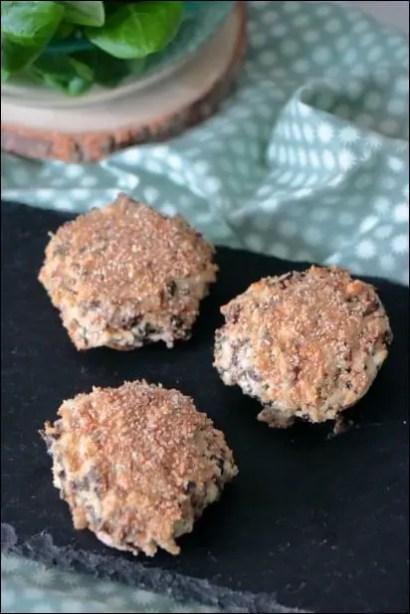 champignons farcis de cyril lignac