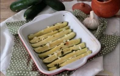 courgettes à l'étuvée ail et origan de Yotam Ottolenghi