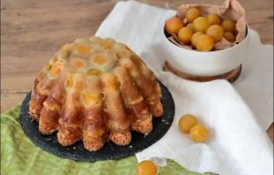 gâteau lorrain aux mirabelles