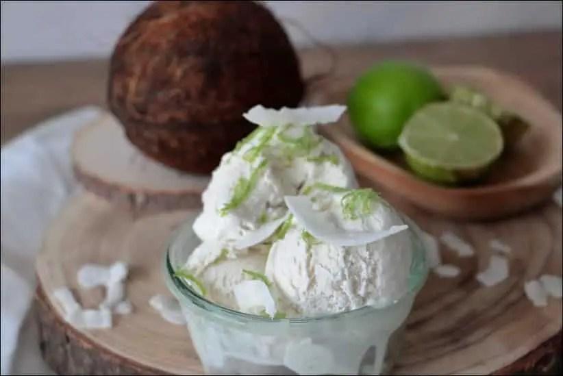 glace noix de coco