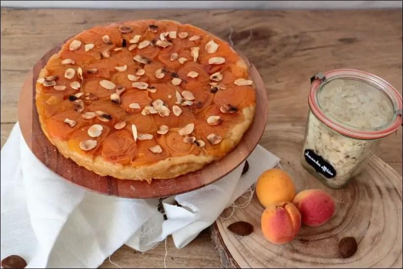 tarte tatin abricot pate feuilletée