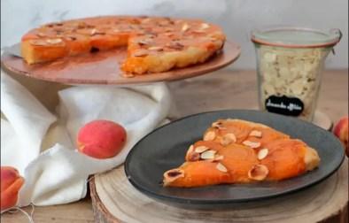 tatin d'abricots aux amandes