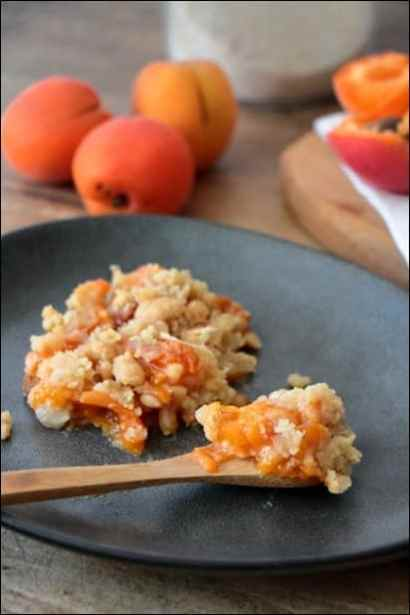 tian provencal aux abricots