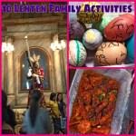 Ten lenten activities for the family
