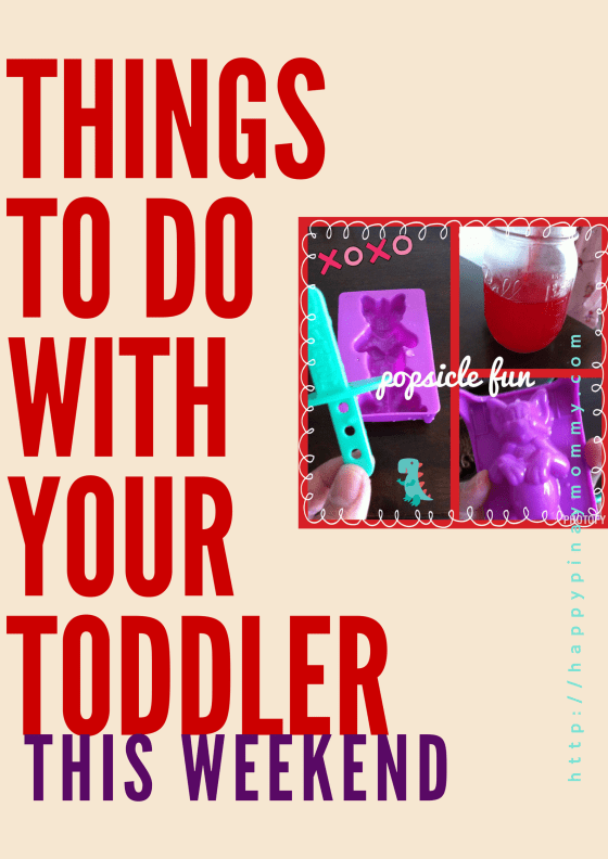 Things to do with your toddler
