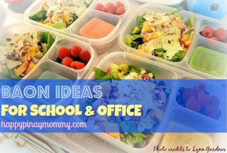 Baon Ideas