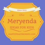 five meryenda ideas for kids