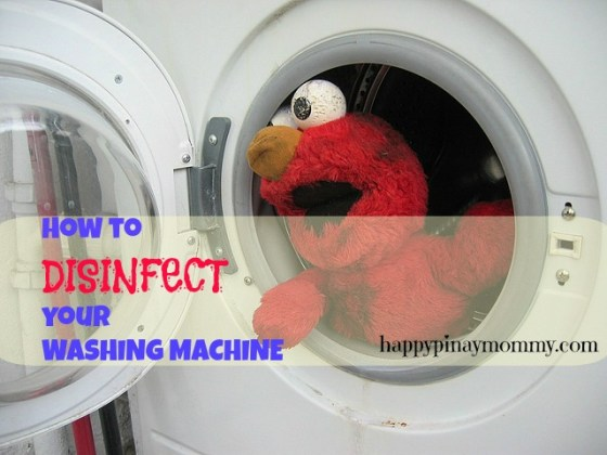 disinfect your washing machine