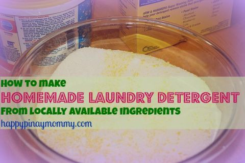 DIY detergent recipes that I have discovered, experimented on and tweaked a bit so as to conform to what is available in our local supermarkets. Recipes for natural homemade detergent in the Philippines