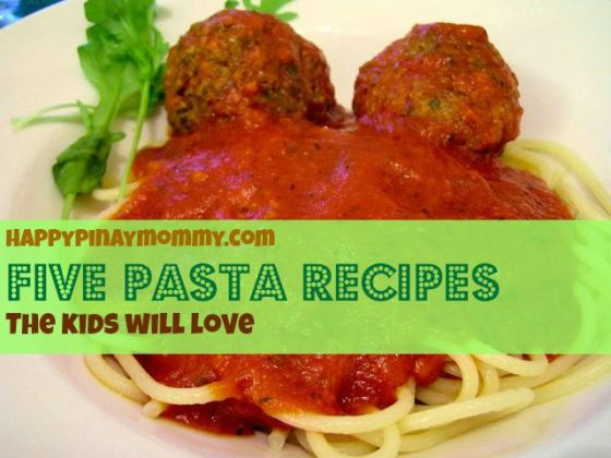 Yummy Pasta Recipes For Kids