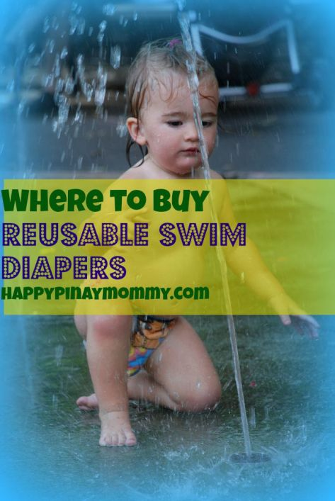 uy reusable swim diapers or cloth diapers for swimming in the Philippines