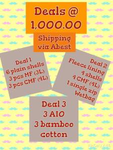 CLoth Diaper Deals in the philippines