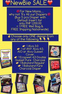 Ongoing Cloth Diaper Sales and Promos in the Philippines – Part 1