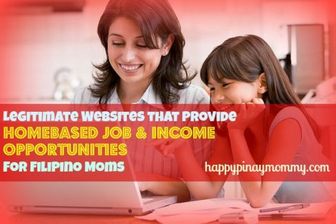 Legitimate Websites that Provide Online Job Opportunities for Filipino Mothers