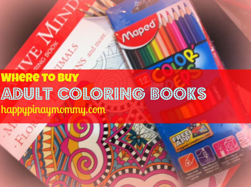 Where To Buy Adult Coloring Books In The Philippines