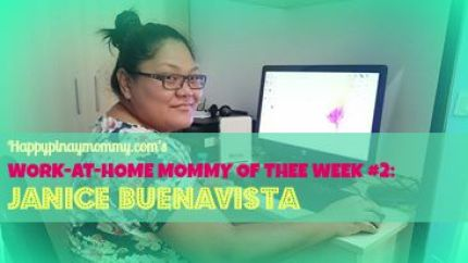 happypinaymommy.com's work at home mommy of the week