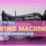 buy sewing machines in the Philippines