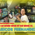 Happypinaymommy.com's Work-at-Home-Mom of the Week #5, Mommy Maricor Fernandez,