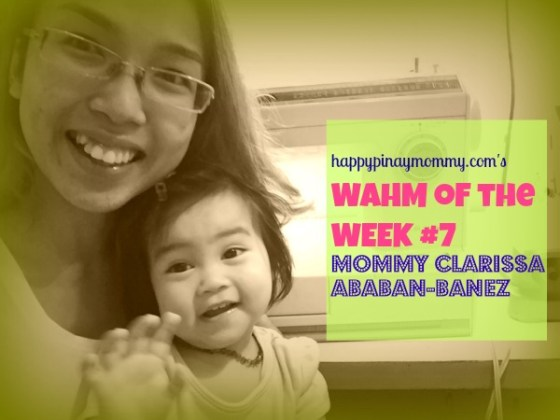 happypinaymommy.com's work-at-home-mom of the week#7: Mommy Clarissa Ababan-Banez