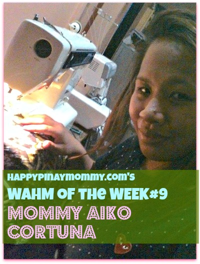 Happypinaymommy.com's WAHM of the Week#9 is Mommy Aiko of Little Bubba's Bum