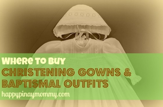 Are you looking for shops where you can buy Baptismal Gowns and Outfits in the Philippines? (Photo Credits)