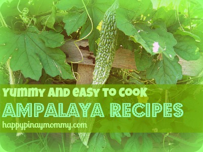 Easy Ampalaya Recipes. (Photo Credits)