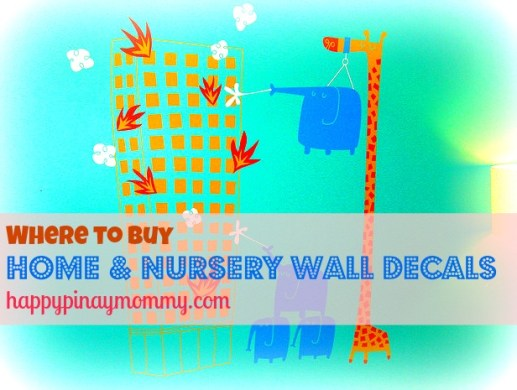 Where to buy Nursery Wall Decals in the Philippines. (Photo Credits)