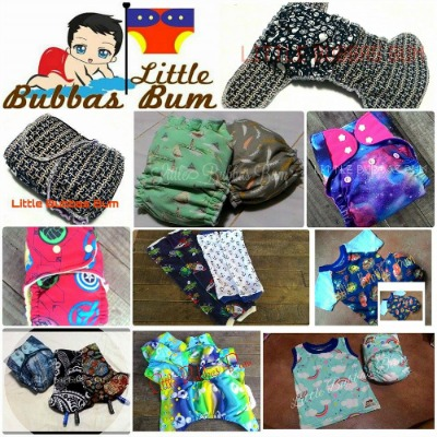 Little Bubba's Bum Cloth Diapers